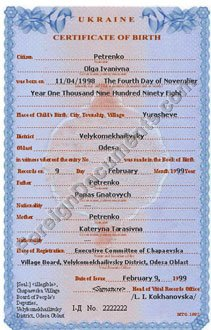 Birth certificate translation for uscis yelopaper Image collections